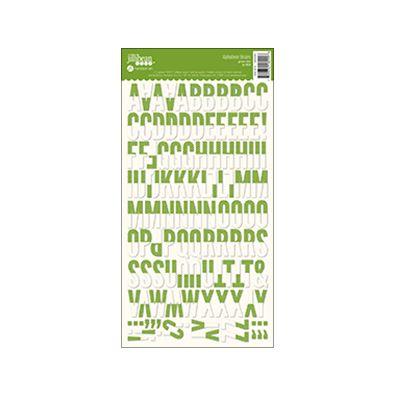 Jillibean Soup Green Dot Alphabean Stickers