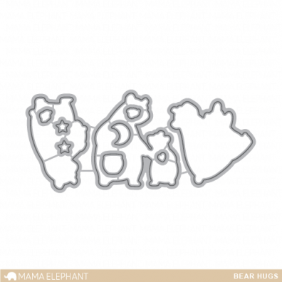 Mama Elephant Creative Cuts - Bear Hugs