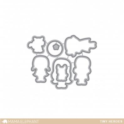 Mama Elephant Creative Cuts - Tiny Heroes