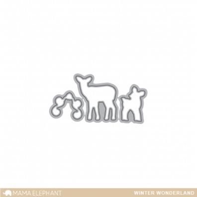 Mama Elephant Creative Cuts - Winter Wonderland