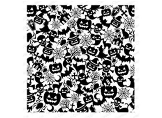 Impression Obsession Cover A Card baggrundsstempel - Spooky