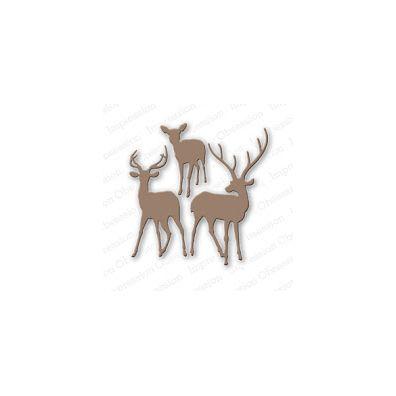 Impression Obsession Die - Deer Trio