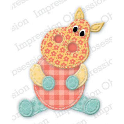 Impression Obsession Die – Patchwork Hippo