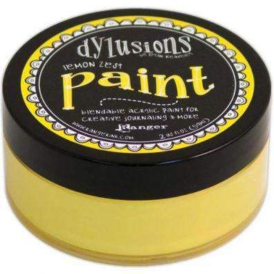 Dylusions Paint - Lemon Zest