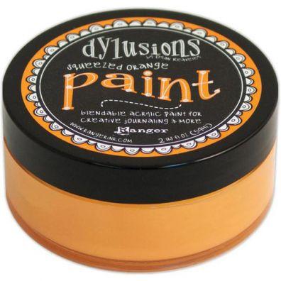 Dylusions Paint - Sqeezed Orange