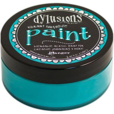 Dylusions Paint - Vibrant Turquiose