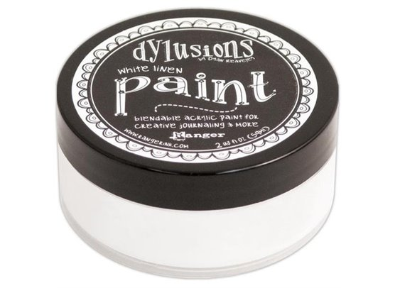 Dylusions Paint - White Linen