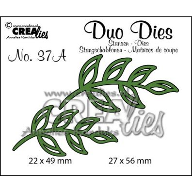 Crealies Duo Dies - Blade