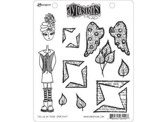 Dylusions Cling Stamps - Tallulah Tripp