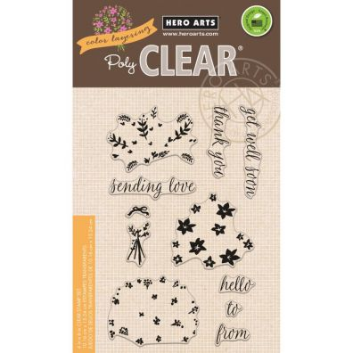 Hero Arts Clear Stamp - Color Layering Large Bouquet