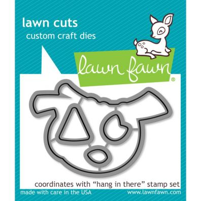 Lawn Fawn Dies - Hang In There