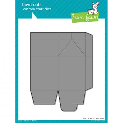 Lawn Fawn Dies - Milk Carton