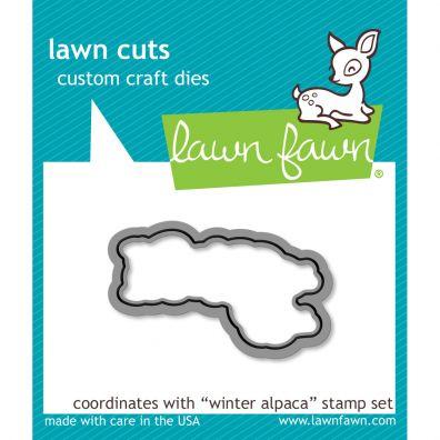 Lawn Fawn Dies - Winter Alpaca