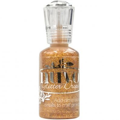 Nuvo Crystal Glitter Drops –- Golden Sunset