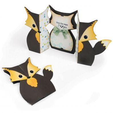 Sizzix Fold-a-long Fox