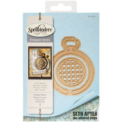 Spellbinders Dies - Pocket Watch fra Seth Apter