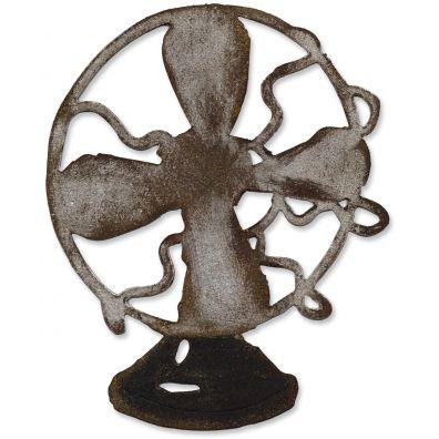 Tim Holtz Sizzix Die Vintage Fan