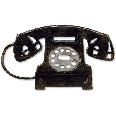 Tim Holtz Sizzix Die Vintage Telephone