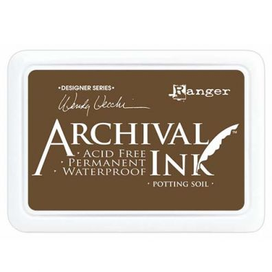 Archival ink Pads - Potting Soil