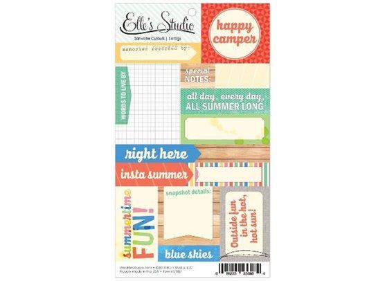 Elle's Studio Saltwater Cutouts