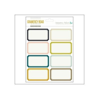 Gossamer Blue - Gramercy Road Large Label Stickers