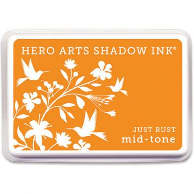 Hero Arts Shadow Ink Mid-tone Just Rust
