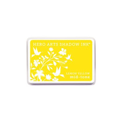 Hero Arts Shadow Ink Mid-tone Lemon Yellow