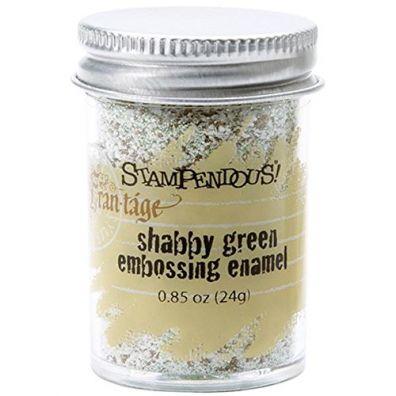 Stampendous Shabby Ivory Embossing Enamel