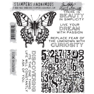 Tim Holtz Cling Stamp - Perspective