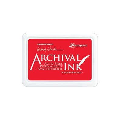 Archival Ink Pads - Carnation Red