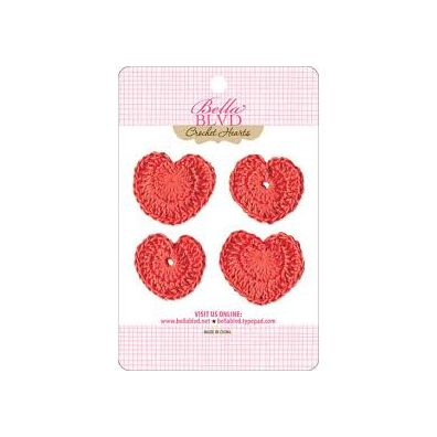 Bella Blvd Crochet Hearts - McIntosh Hearts