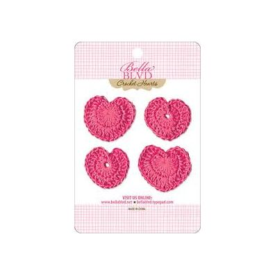 Bella Blvd Crochet Hearts - Punch Hearts