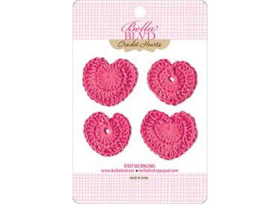 Bella Blvd Crochet Hearts - Punch Hearts