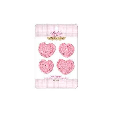 Bella Blvd Crochet Hearts - Cotton Candy Hearts