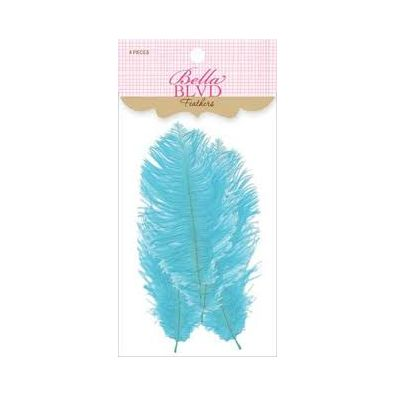 Bella Blvd Feathers - Ice Feathers