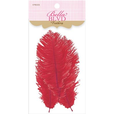 Bella Blvd Feathers - Saffron Feathers