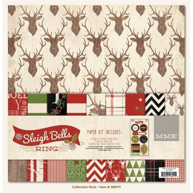 My Minds Eye Sleigh Bells Ring - Collection Kit