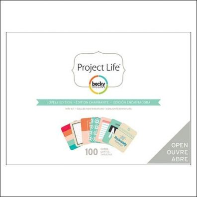 Project Life Mini Kit - Lovely Edition