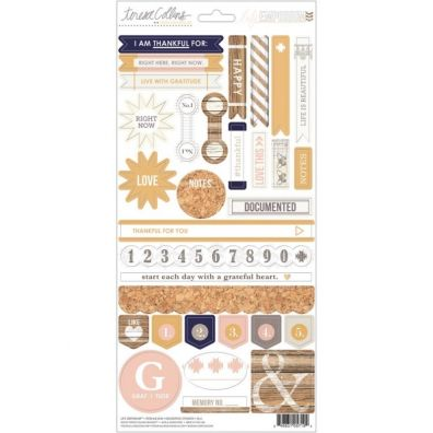 Teresa Collins Life Emporium - Decorative Stickers