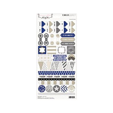 Teresa Collins Urban Market - Decorative Stickers