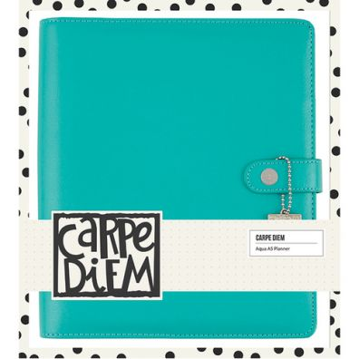 Carpe Diem Posh A5 Planner Boxed Set Aqua – Simple Stories