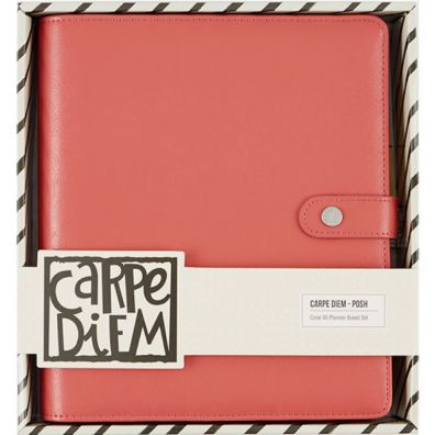 Carpe Diem Posh A5 Planner Boxed Set Coral – Simple Stories