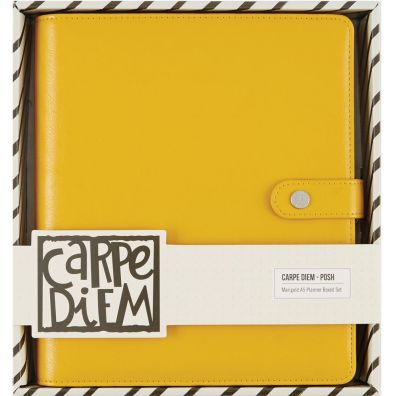 Carpe Diem Posh A5 Planner Boxed Set Marigold – Simple Stories