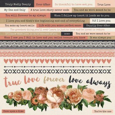 Kaiser Craft Always & Forever Sticker Sheet