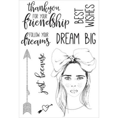 Kaiser Craft Clear Stamp – Boho Dreams