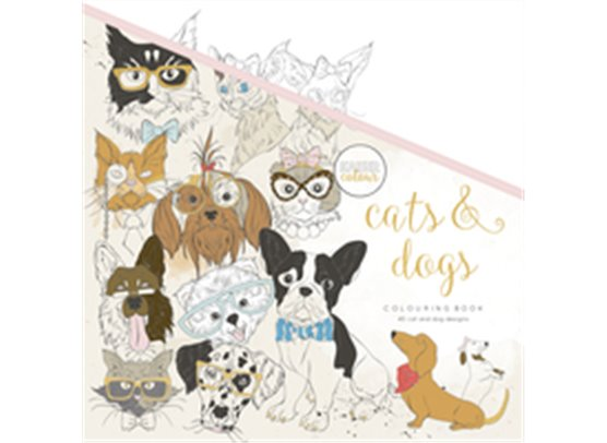 Kaiser Craft Colouring Book – Cats & Dogs