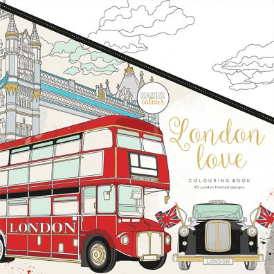 Kaiser Craft Colouring Book – London Love