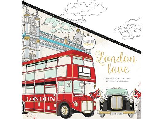 Kaiser Craft Colouring Book – London Love
