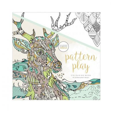 Kaiser Craft Colouring Book – Pattern Play