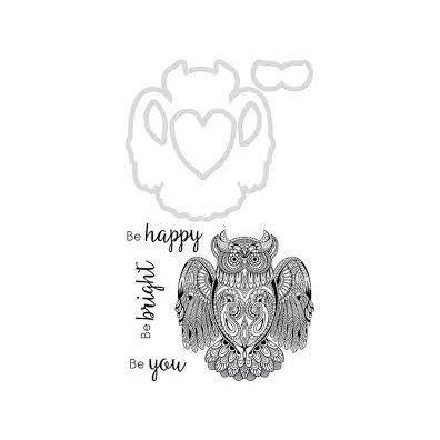 Kaiser Craft Decorative Die and Stamp – Owl